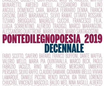 PontedilegnoPoesia 2019: edizione del decennale