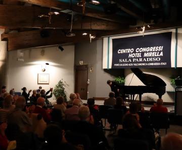 """RINASCITA"" MUSICALE: SUCCESSO DI RAMIN BAHRAMI A PONTE DI LEGNO"